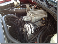 GM 6.0l with blower other view